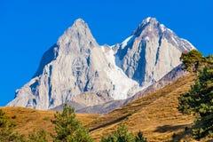 Ushba mountain, Georgia Stock Images