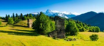 Ushba mountain Stock Image