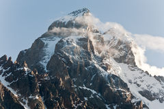 Ushba mountain. Royalty Free Stock Images
