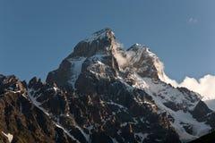 Ushba mountain. Stock Photos