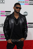 Usher. At the 2010 American Music Awards Arrivals, Nokia Theater, Los Angeles, CA. 11-21-10 Royalty Free Stock Photography