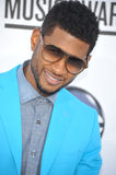 Usher. Singer Usher arrives at the 2012 Billboard Music Awards held at the MGM Grand Garden Arena Royalty Free Stock Images