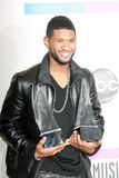 Usher. At the 2010 American Music Awards Press Room, Nokia Theater, Los Angeles, CA. 11-21-10 Royalty Free Stock Photos