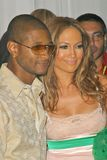 Usher, Jennifer Lopez. Usher and Jennifer Lopez at the 2004 World Music Awards in the Thomas Mack Arena at UNLV, Las Vegas, NV. 09-15-04 Stock Photography