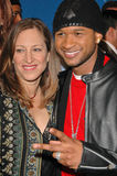 Usher,Lizzy Moore Stock Images