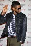Usher Raymond. LOS ANGELES - FEB 10:  Usher Raymond arrives at the Belvedere RED Special Edition Bottle Launch at Avalon on February 10, 2011 in Los Angeles, CA Royalty Free Stock Photos