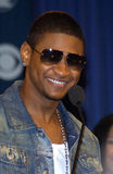 Usher. Singer USHER at the nominations announcement, in Beverly Hills, for the 44th Annual GRAMMY Awards.  Paul Smith/Featureflash Royalty Free Stock Photo