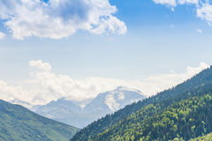 Ushguli,上部Svaneti,乔治亚,欧洲 库存照片