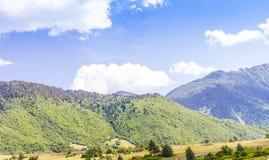 Ushguli,上部Svaneti,乔治亚,欧洲 库存图片