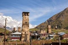 Ushguli Dorf lizenzfreies stockfoto