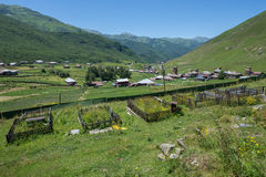 Ushguli in Georgia Royalty Free Stock Images