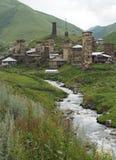 Ushguli, Georgia, Europe Royalty Free Stock Images