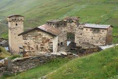 Ushguli, Georgia, Europe Stock Images