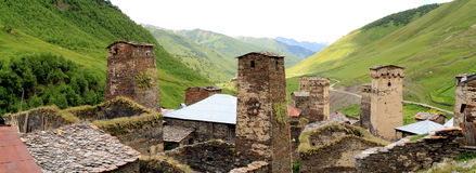 Ushguli, The Highest Village in Europe Stock Photography