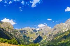 Ushguli, Hogere Svaneti, Georgië, Europa Royalty-vrije Stock Foto