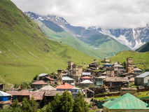 Ushguli Royalty Free Stock Photo