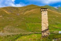 Ushguli, Svaneti superior, Georgia, Europa Imagen de archivo