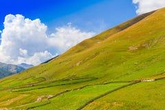 Ushguli, Svaneti superior, Georgia, Europa Imagen de archivo libre de regalías
