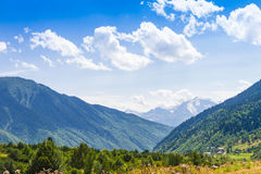 Ushguli, Svaneti superior, Georgia, Europa Fotos de archivo libres de regalías