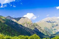 Ushguli, Svaneti superior, Georgia, Europa Imágenes de archivo libres de regalías