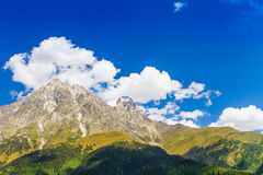 Ushguli, Svaneti superior, Georgia, Europa Fotografía de archivo libre de regalías