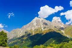 Ushguli, Svaneti superior, Georgia, Europa Fotografía de archivo