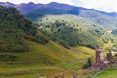 Ushguli, Upper Svaneti, Georgia, Europe Stock Image