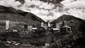 Ushguli. The highest inhabited village in Europe Royalty Free Stock Photography