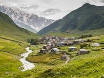 Ushguli village. Europe, Caucasus,  Georgia. Royalty Free Stock Photography