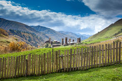Ushguli village in Swanetia. Georgia Stock Images
