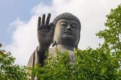 Ushiku Daibutsu,日本 免版税库存照片