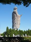 Ushiku Daibutsu - World Tallest Bronze Statue of Buddha. The statue is Ushiku Daibutsu, the tallest bronze statue of Buddha in the world, stands in Ushiku of stock photos