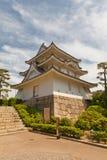 Ushitora (nordost) torn (1676) av den Takamatsu slotten, Japan Arkivbild
