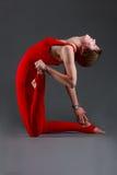 Ushtrasana yoga Stock Images