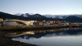 Ushuaia,火地群岛,阿根廷 免版税库存照片