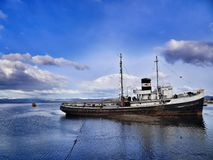 Ushuaia - η πιό νοτηότατη πόλη στον κόσμο Στοκ Εικόνες