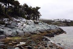 ushuaia καναλιών λαγωνικών Στοκ φωτογραφία με δικαίωμα ελεύθερης χρήσης