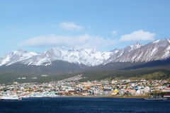 ushuaia της Αργεντινής Στοκ φωτογραφίες με δικαίωμα ελεύθερης χρήσης