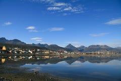 Ushuaia. City of Ushuaia in Tierra del Fuego, Argentina Royalty Free Stock Photo