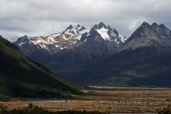 ushuaia βουνών των Άνδεων Στοκ φωτογραφία με δικαίωμα ελεύθερης χρήσης