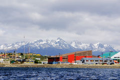Ushuaia. ARGENTINA NOV. 27: . It is commonly regarded as the southernmost city in the world on november 27 2011 in  Argentina Stock Images