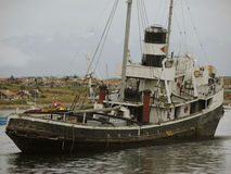 Кораблекрушение в Ushuaia, Аргентине Стоковые Фотографии RF