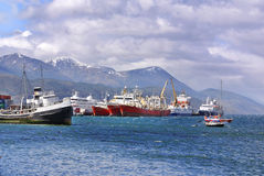 Ushuaia Stock Foto's