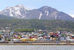 Ushuaia港口 免版税库存照片