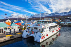 Ushuaia aerial view, Argentina Royalty Free Stock Image