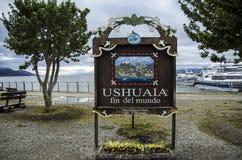 Ushuaia, Argentina Fotografie Stock Libere da Diritti