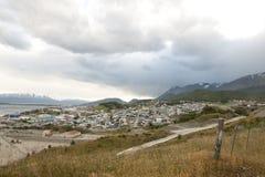 Ushuaia - Argentina Arkivfoto