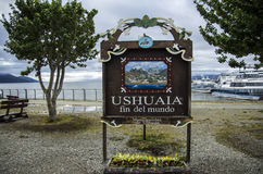 Ushuaia, Argentina Royalty Free Stock Photos