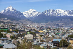 Ushuaia, Argentinien. Lizenzfreie Stockfotos