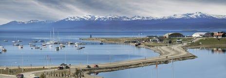 Ushuaia, Argentyna. Zdjęcia Royalty Free